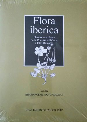 FLORA IBERICA. VOL. IX: RHAMNACEAE-POLYGALACEAE *