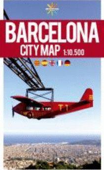BARCELONA CITYMAP 1:10,500