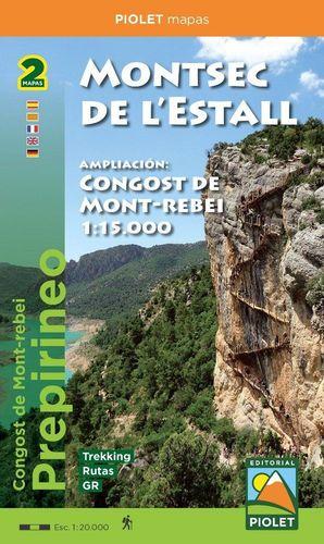 MONTSEC DE L'ESTALL 1:20.000  (2 MAPES)