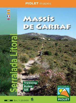 MASSIS DE GARRAF 1:20,000