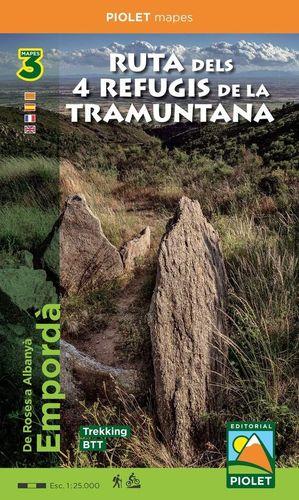 RUTA DELS 4 REFUGIS DE LA TRAMUNTANA. DE ROSES A ALBANYÀ