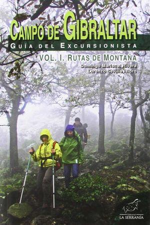 CAMPO DE GIBRALTAR. GUIA DEL EXCURSIONISTA VOL 1