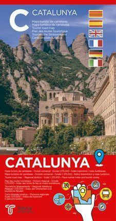 CATALUNYA [1:275.000] MAPA TURÍSTIC DE CARRETERES