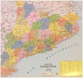 CATALUNYA COMARQUES [MINI MURAL] [1:565.000] *