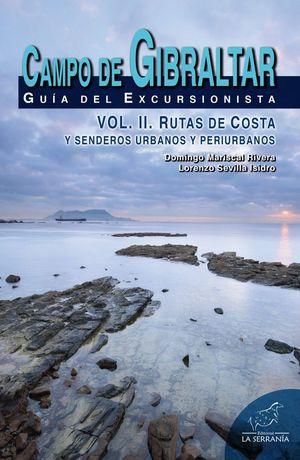 CAMPO DE GIBRALTAR GUIA DEL EXCURSIONISTA VOL. II