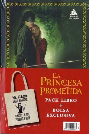 PACK LA PRINCESA PROMETIDA CON BOLSA *