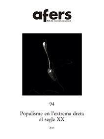 POPULISME EN L'EXTREMA DRETA AL SEGLE XX *