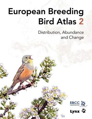 EUROPEAN BREEDING BIRD ATLAS 2 *