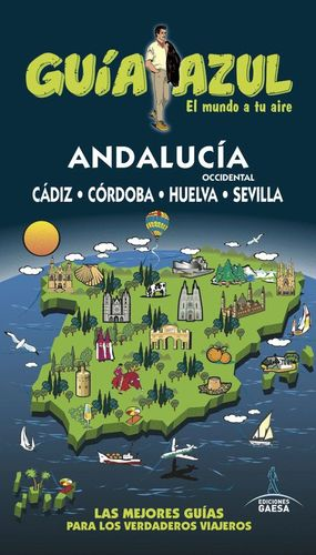 ANDALUCÍA OCCIDENTAL (GUIA AZUL) *