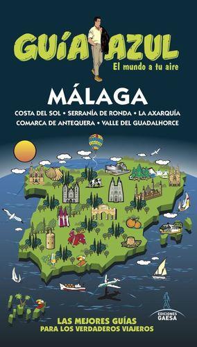 MÁLAGA (GUIA AZUL) *