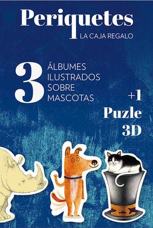 PERIQUETES - MASCOTAS (3ALBUMS + 1 PUZLE) *