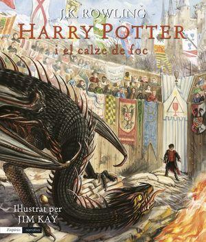 HARRY POTTER I EL CALZE DE FOC (EDICIÓ IL·LUSTRADA) *