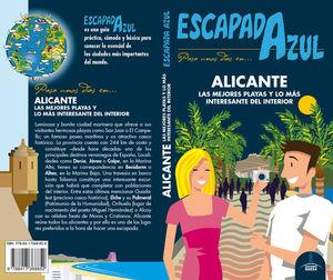 ALICANTE ESCAPADA ZUL *