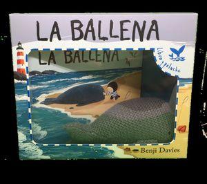 LA BALLENA - LIBRO Y PELUCHE *