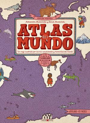 ATLAS DEL MUNDO. EDICIÓN PÚRPURA *