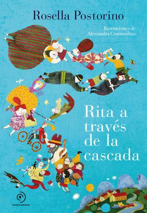 RITA A TRAVÉS DE LA CASCADA *