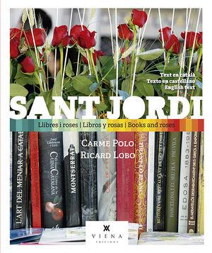 SANT JORDI, LLIBRES I ROSES *
