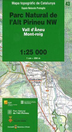 43 PARC NATURAL DE L'ALT PIRINEU NW, 1:25.000
