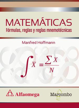 MATEMÁTICAS FÓRMULAS, REGLAS Y REGLAS MNEMOTÉCNICAS *