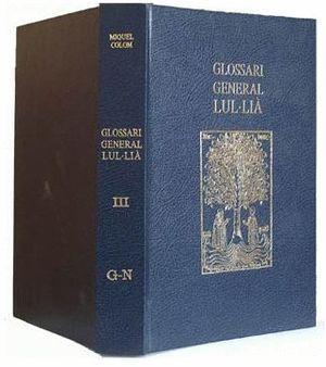 GLOSSARI GENERAL LUL LIÀ, 5 VOLS. *