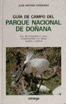 GUIA DE CAMPO PARQUE NACIONAL DE DOÑANA *