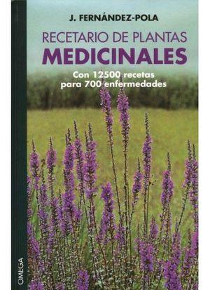 RECETARIO DE PLANTAS MEDICINALES *