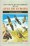 GUIA PARA RECONOCIMIENTO AVES EUROPA *