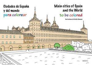 CIUDADES DE ESPAÑA Y DEL MUNDO PARA COLOREAR *