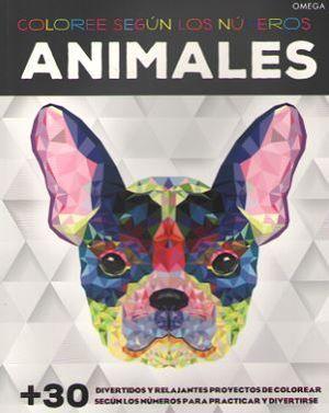 ANIMALES. COLOREE SEGÚN LOS NÚMEROS