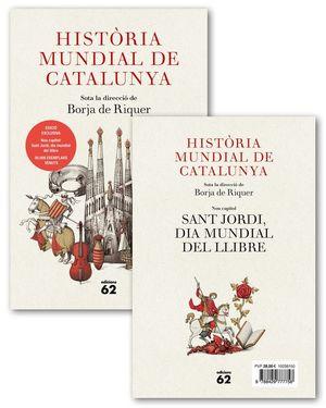 HISTÒRIA MUNDIAL DE CATALUNYA + OPUSCLE (PACK ) *