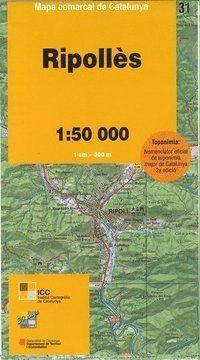 RIPOLLÈS Nº 31 E. 1:50,000