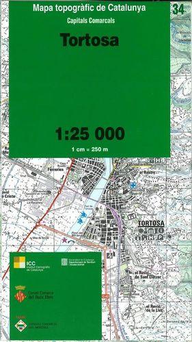 34 TORTOSA 1:25.000 -ICC