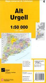 04 ALT URGELL 1:50.000