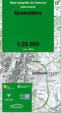 13 GRANOLLERS  1:25.000 *