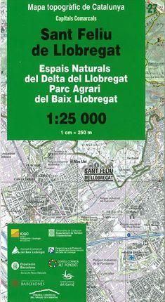 27 SANT FELIU DE LLOBREGAT 1:25.000 -ICC