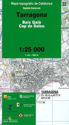 32 TARRAGONA    1:25.000 *