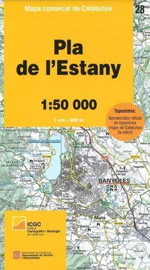 28 PLA DE L'ESTANY (1:50.000) *