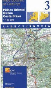 03 PIRINEU ORIENTAL, GIRONA, COSTA BRAVA (1:100.000)