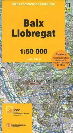 11 BAIX LLOBREGAT 1:50.000 *