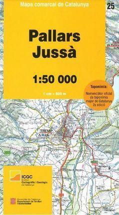 25 PALLARS JUSSÀ (1:50.000)