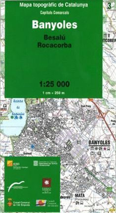 BANYOLES – 03 (BESALÚ, ROCACORBA) 1:25.000 *
