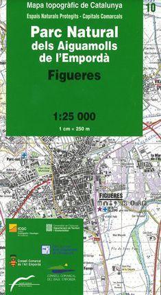 10 PARC NATURAL DELS AIGUAMOLLS DE L'EMPORDÀ 1:25.000