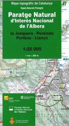 47 PARATGE NATURAL DE L'ALBERA 1:25.000