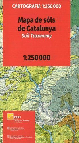 MAPA DE SÒLS DE CATALUNYA. SOIL TAXONOMY 1:250,000