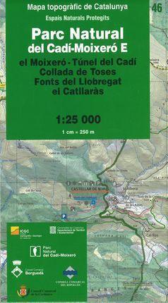 46 PARC NATURAL DEL CADÍ MOIXERÓ E 1:25.000