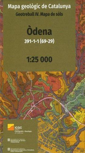 MAPA GEOLÒGIC DE CATALUNYA. GEOTREBALL IV. ÒDENA 391-1-1 (69-29) *