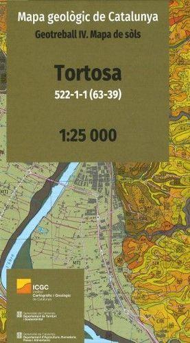 MAPA GEOLÒGIC DE CATALUNYA. GEOTREBALL IV: TORTOSA 522-1-1 (63-39) *