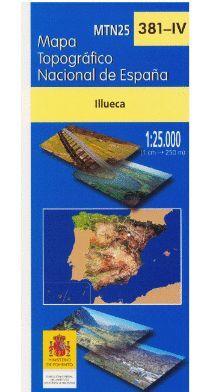 381-4 ILLUECA  1:25,000