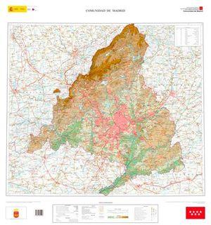 MAPA DE LA COMUNIDAD DE MADRID E1:200.000 EN RELIEVE*