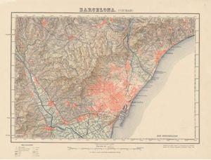 MTN50: BARCELONA (CIUDAD). 1927